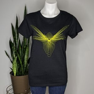 Loot Crate Marvel yellow & black Wasp t-shirt M